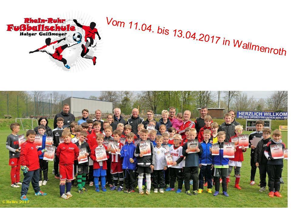 Rhein-Ruhr Fußballschule mit Holger Gaißmaier 2017